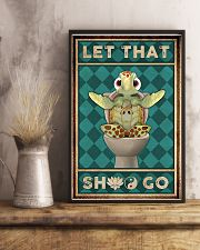 Turtle Let That 11x17 Poster lifestyle-poster-3