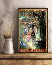 Horse Be A Bossmare 11x17 Poster lifestyle-poster-3