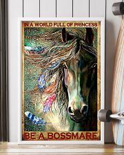 Horse Be A Bossmare 11x17 Poster lifestyle-poster-4
