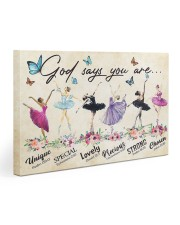 God Says You Are -Ballet- Horizontal Poster  Gallery Wrapped Canvas Prints tile