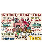 Quilting Room 17x11 Poster front