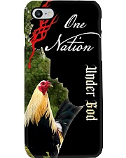 Phonecase-Grey-Under God Rooster  Phone Case i-phone-8-case