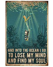 Scuba Find My Soul 11x17 Poster front