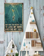 Scuba Find My Soul 11x17 Poster lifestyle-holiday-poster-2