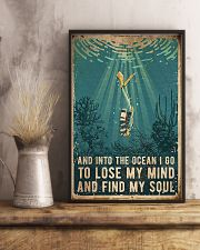 Scuba Find My Soul 11x17 Poster lifestyle-poster-3