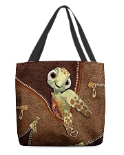 Turtle Leather All-Over Tote tile