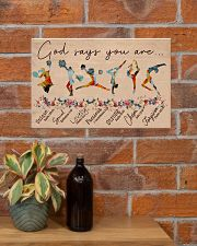 God Says You Are -Cheers and Gymnastics-Horizontal 17x11 Poster poster-landscape-17x11-lifestyle-23