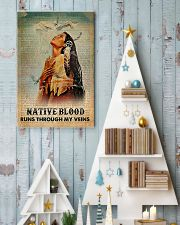 Native American Blood In Veins 11x17 Poster lifestyle-holiday-poster-2