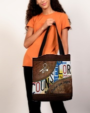 Counselor Love Inspire  All-over Tote aos-all-over-tote-lifestyle-front-06