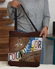 Counselor Love Inspire  All-over Tote aos-all-over-tote-lifestyle-front-10