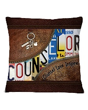 Counselor Love Inspire  Square Pillowcase tile