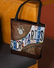 Secretaries Respect Caring Courage All-over Tote aos-all-over-tote-lifestyle-front-02