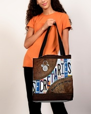 Secretaries Respect Caring Courage All-over Tote aos-all-over-tote-lifestyle-front-06