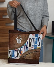 Secretaries Respect Caring Courage All-over Tote aos-all-over-tote-lifestyle-front-10