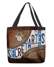 Secretaries Respect Caring Courage All-over Tote front