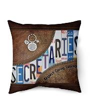 Secretaries Respect Caring Courage Indoor Pillow tile