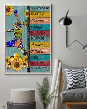 Softball - God Says You Are Beautiful 11x17 Poster lifestyle-poster-1