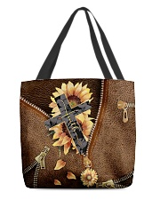 Faith Leather pattern print All-over Tote front