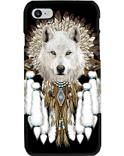 Native American Wolf Spirit Phone Case i-phone-8-case