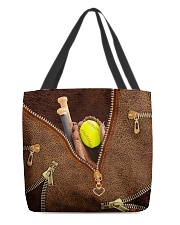 Softball All-Over Tote All-over Tote front