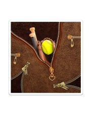 Softball All-Over Tote Sticker tile
