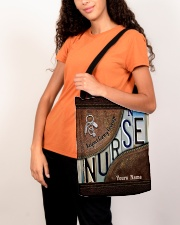 Custom Name Nurse Respect Caring Courage All-over Tote aos-all-over-tote-lifestyle-front-07