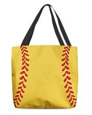 Softball Bag All-over Tote back