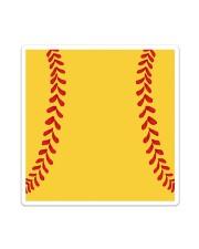 Softball Bag Sticker tile