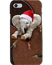 Elephant - Brown Phone Case i-phone-8-case