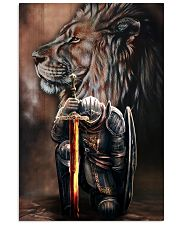 Jesus Warrior  11x17 Poster front