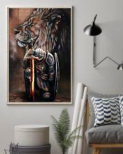 Jesus Warrior  11x17 Poster lifestyle-poster-1