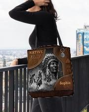 Custom Name Native Pride Tote All-Over Tote All-over Tote aos-all-over-tote-lifestyle-front-05