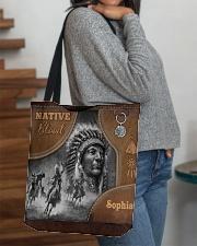 Custom Name Native Pride Tote All-Over Tote All-over Tote aos-all-over-tote-lifestyle-front-09