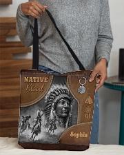Custom Name Native Pride Tote All-Over Tote All-over Tote aos-all-over-tote-lifestyle-front-10