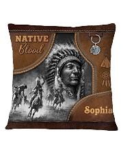 Custom Name Native Pride Tote All-Over Tote Square Pillowcase tile