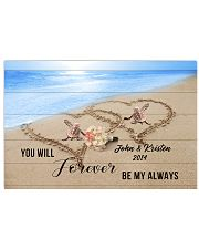 Custom Turtle Be My Always 17x11 Poster front