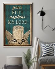 Cat Your Butt Napkins My Lord 11x17 Poster lifestyle-poster-1
