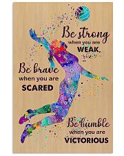 Be Strong 11x17 Poster front