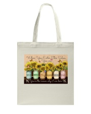 Hairdresser You Are The Reason Tote Bag tile