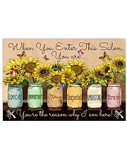 Hairdresser You Are The Reason 17x11 Poster front