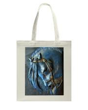 Horse Girl Sad Tote Bag tile