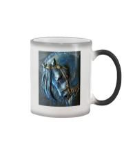 Horse Girl Sad Color Changing Mug tile