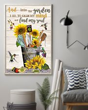 and into the garden 11x17 Poster lifestyle-poster-1