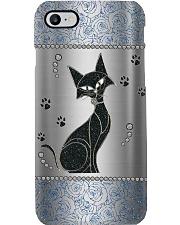 Black cat Phone Case i-phone-8-case