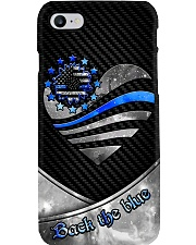 Back The Blue Sunflower ver2 Phone Case i-phone-8-case