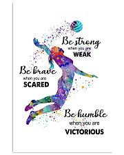 Be Strong When You Are Weak Unframed 11x17 Poster front