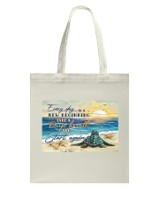 Turtle Everyday Is A New Tote Bag tile