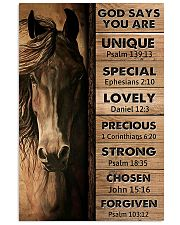 Horse God Say You Are 11x17 Poster front