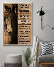 Horse God Say You Are 11x17 Poster lifestyle-poster-1