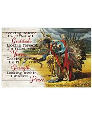 Native Looking 17x11 Poster front